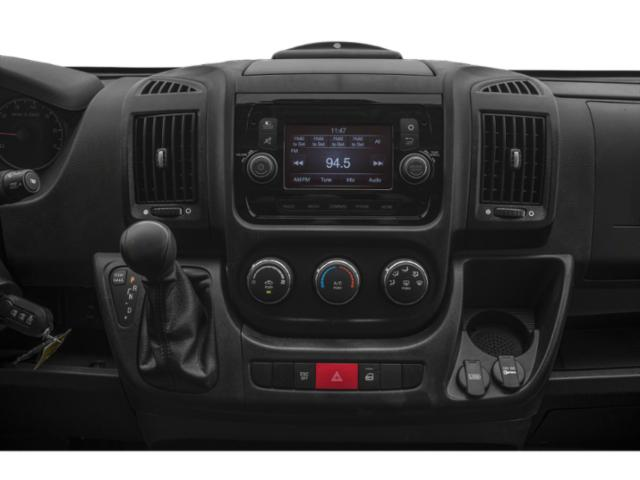 2019 Ram Truck ProMaster Cargo Van Base Price 2500 High Roof 159 WB Pricing stereo system