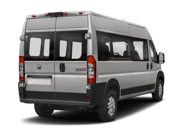 2019 Ram Truck ProMaster Window Van Base Price 3500 High Roof 159 WB EXT Pricing side rear view