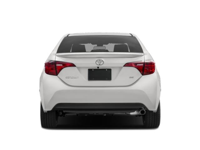 2019 Toyota Corolla Base Price SE Manual Pricing rear view