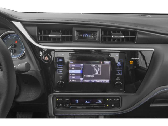 2019 Toyota Corolla Base Price SE Manual Pricing stereo system