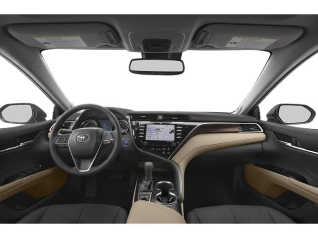 2019 Toyota Camry Pictures Camry Hybrid XLE CVT photos full dashboard