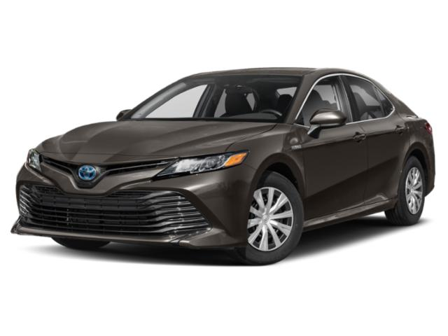 2019 Toyota Camry Base Price Hybrid XLE CVT Pricing side front view