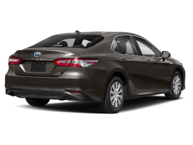 2019 Toyota Camry Base Price Hybrid XLE CVT Pricing side rear view