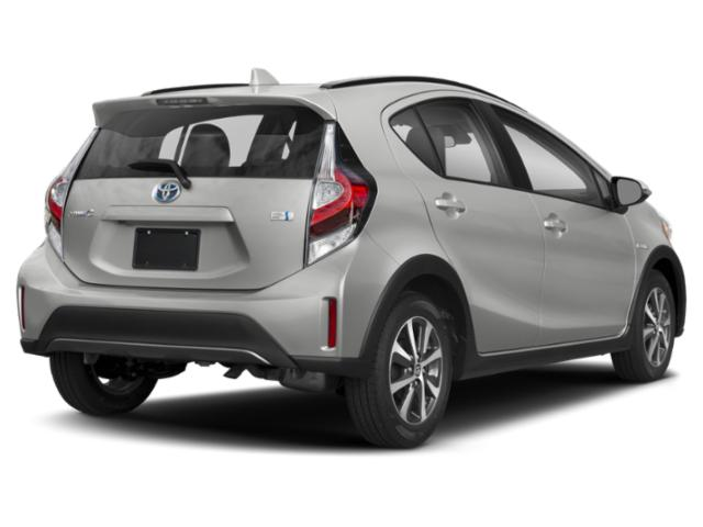 2019 Toyota Prius c Base Price LE Pricing side rear view