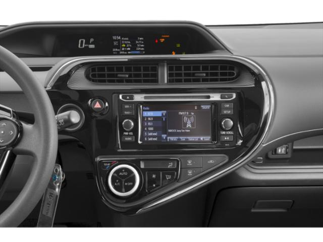 2019 Toyota Prius c Base Price LE Pricing stereo system