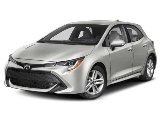 2019 Toyota Corolla Hatchback Pictures Corolla Hatchback SE CVT photos side front view