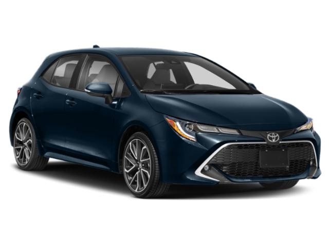 2019 Toyota Corolla Hatchback Pictures Corolla Hatchback SE Manual photos side front view