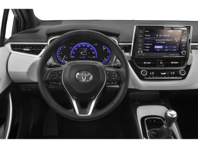 2019 Toyota Corolla Hatchback Pictures Corolla Hatchback SE Manual photos driver's dashboard