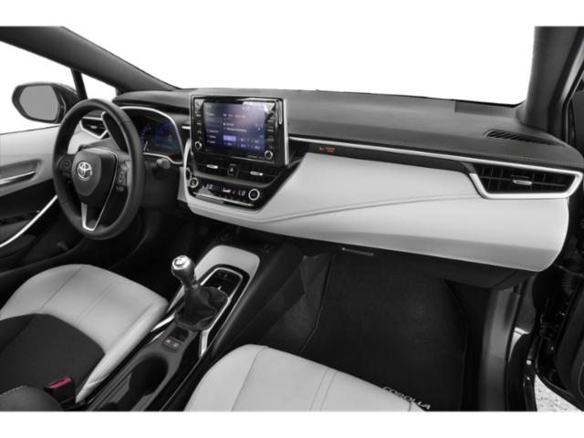 2019 Toyota Corolla Hatchback Pictures Corolla Hatchback SE Manual photos passenger's dashboard