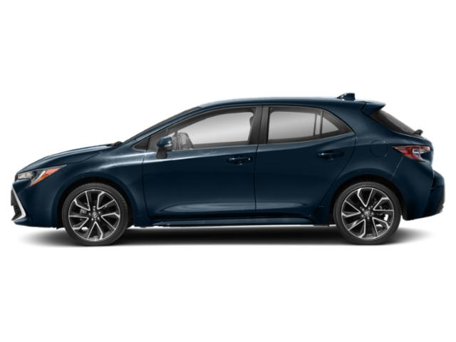 2019 Toyota Corolla Hatchback Pictures Corolla Hatchback SE Manual photos side view