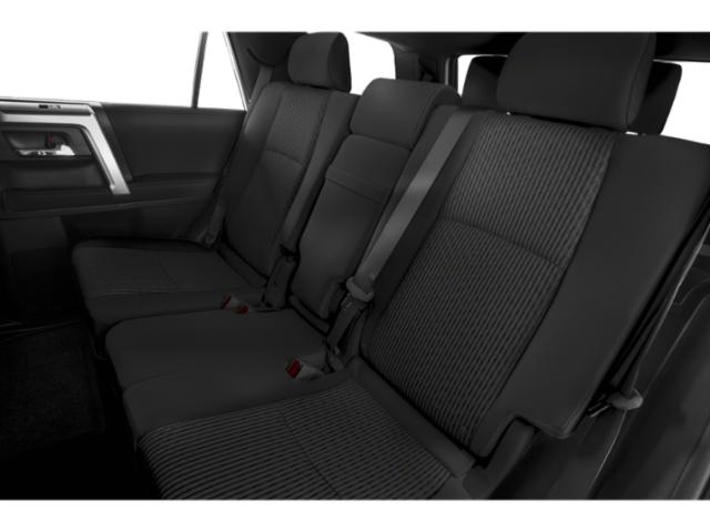 2019 Toyota 4Runner Pictures 4Runner TRD Off Road 4WD photos backseat interior