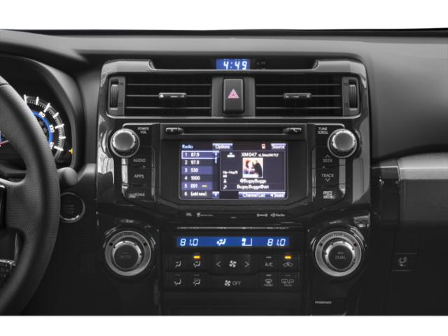 2019 Toyota 4Runner Base Price SR5 4WD Pricing stereo system