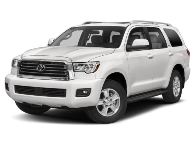 2019 Toyota Sequoia Pictures Sequoia Platinum 4WD photos side front view