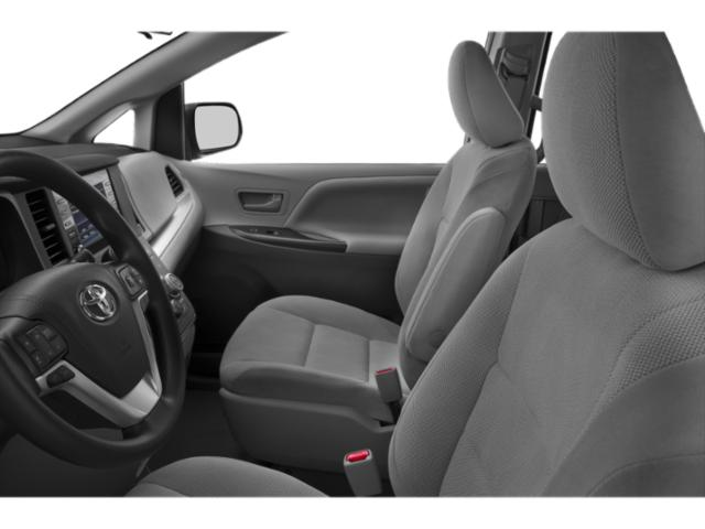 2019 Toyota Sienna Base Price SE FWD 8-Passenger Pricing front seat interior