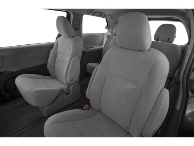 2019 Toyota Sienna Base Price SE FWD 8-Passenger Pricing backseat interior