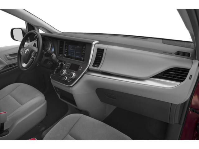 2019 Toyota Sienna Base Price SE FWD 8-Passenger Pricing passenger's dashboard