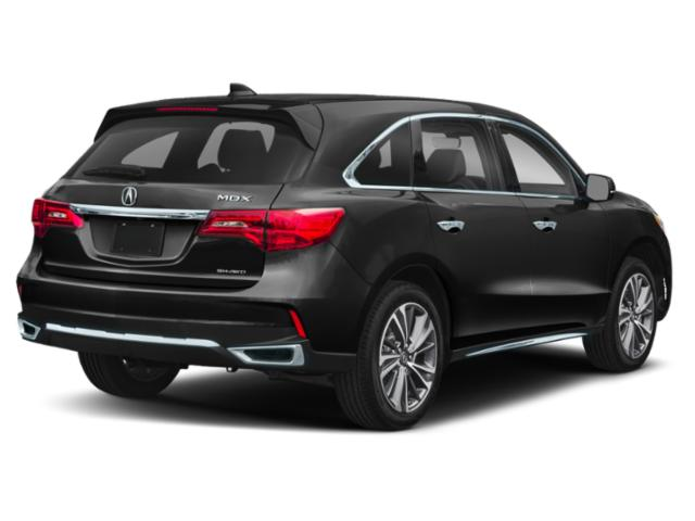 2020 Acura MDX Base Price SH-AWD 7-Passenger Pricing side rear view