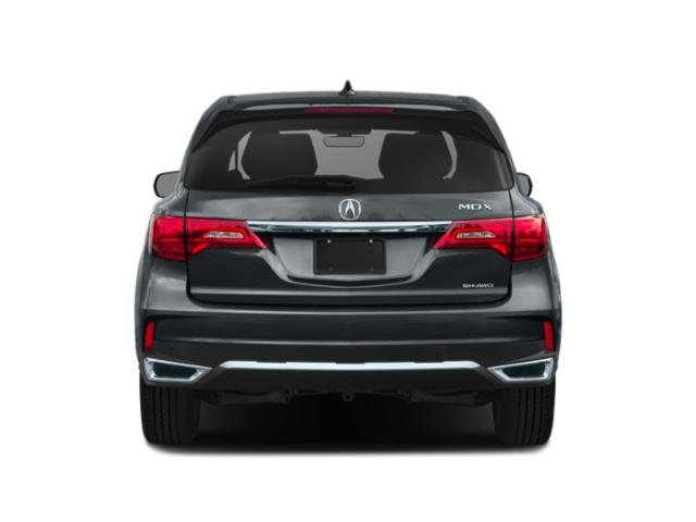 2020 Acura MDX Base Price SH-AWD 7-Passenger Pricing rear view