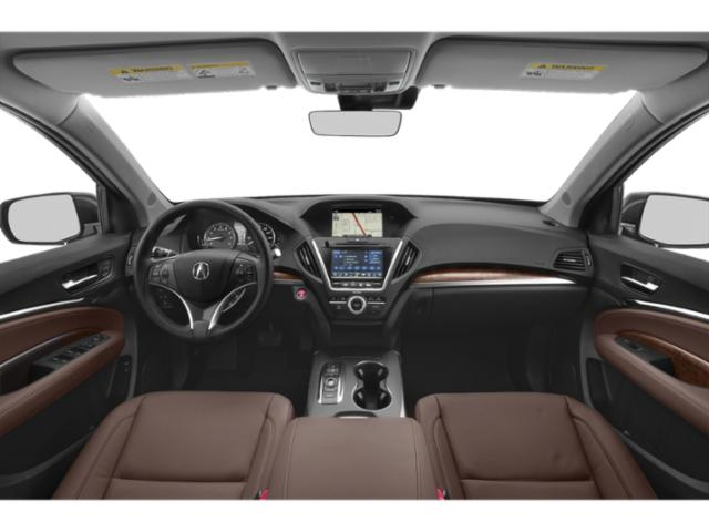 2020 Acura MDX Base Price SH-AWD 7-Passenger Pricing full dashboard