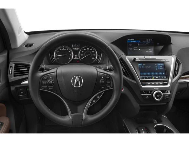 2020 Acura MDX Base Price SH-AWD 7-Passenger Pricing driver's dashboard