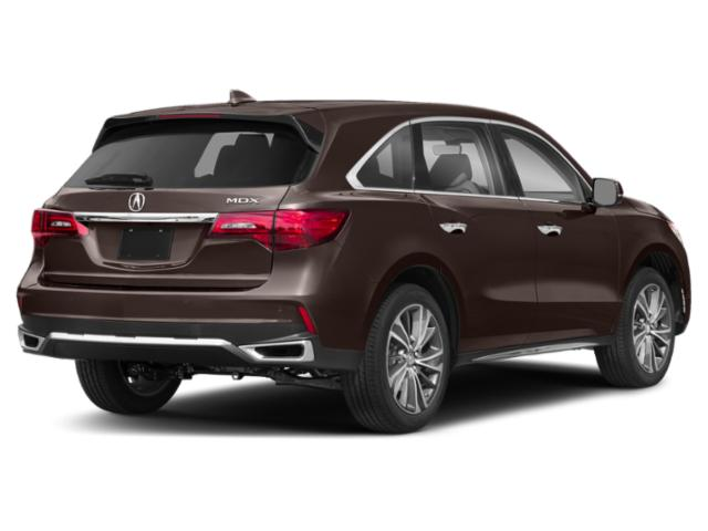 2020 Acura MDX Base Price FWD 7-Passenger Pricing side rear view