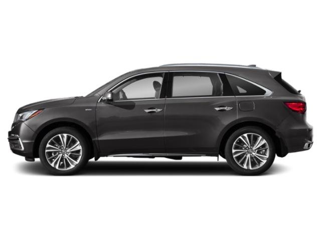 2020 Acura MDX Base Price SH-AWD 7-Passenger Sport Hybrid w/Technology Pkg Pricing side view