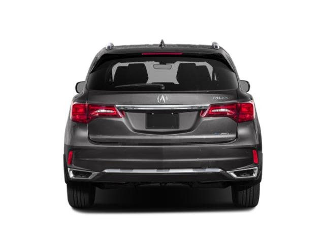 2020 Acura MDX Base Price SH-AWD 7-Passenger Sport Hybrid w/Technology Pkg Pricing rear view
