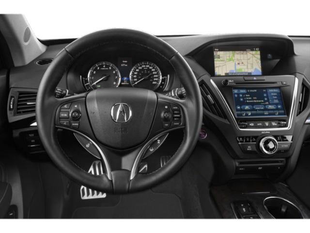 2020 Acura MDX Base Price SH-AWD 7-Passenger Sport Hybrid w/Technology Pkg Pricing driver's dashboard