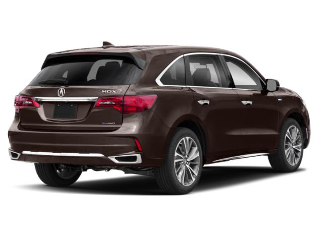 2020 Acura MDX Base Price SH-AWD 7-Passenger Sport Hybrid w/Technology Pkg Pricing side rear view