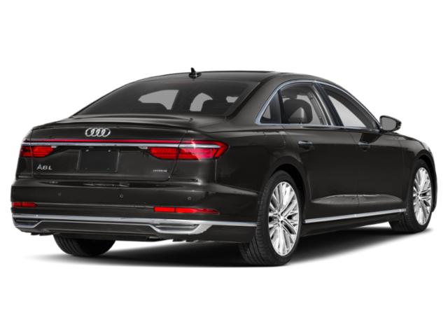 2020 Audi A8 L Prices and Values 60 TFSI quattro side rear view