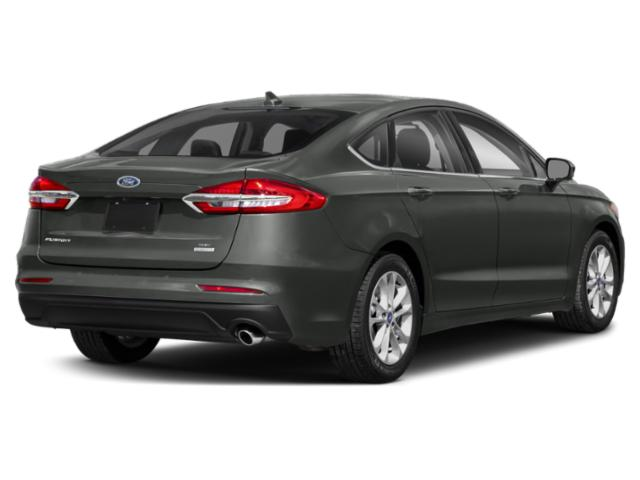 2020 Ford Fusion Base Price S FWD Pricing side rear view