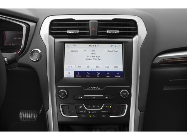 2020 Ford Fusion Base Price S FWD Pricing stereo system