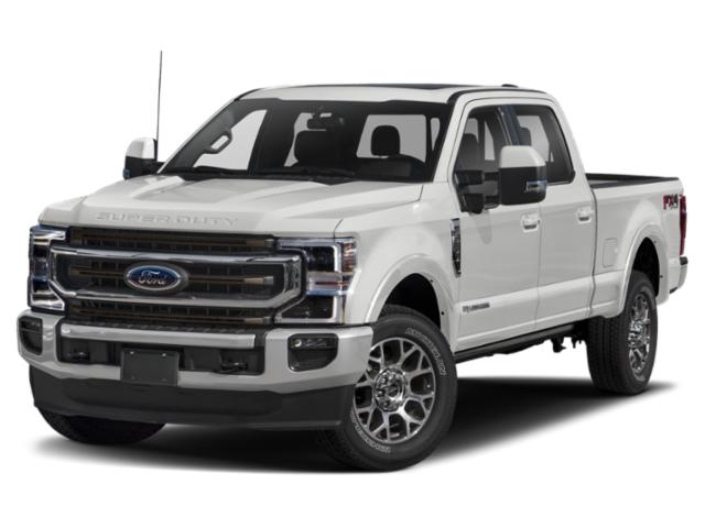 2020 Ford Super Duty F-250 SRW Base Price King Ranch 2WD Crew Cab 6.75' Box Pricing side front view