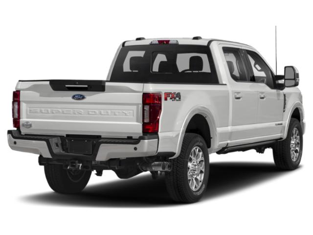 2020 Ford Super Duty F-250 SRW Base Price King Ranch 2WD Crew Cab 6.75' Box Pricing side rear view