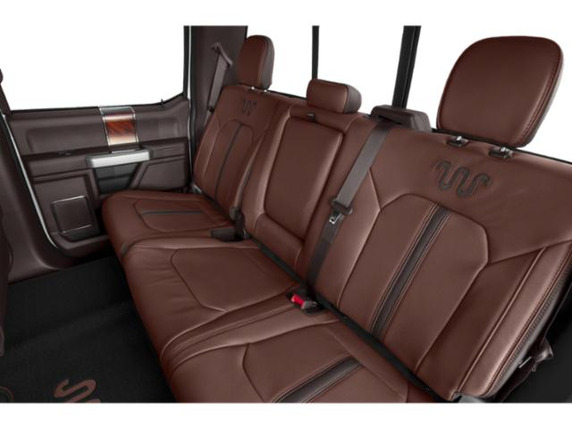 2020 Ford Super Duty F-250 SRW Base Price King Ranch 2WD Crew Cab 6.75' Box Pricing backseat interior