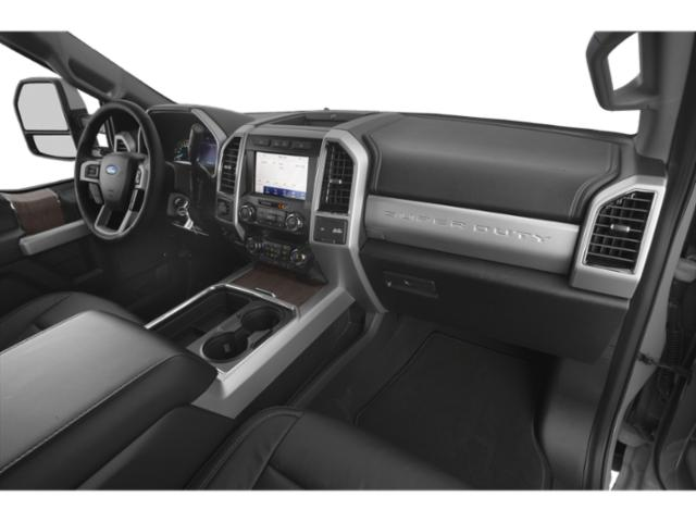 2020 Ford Super Duty F-250 SRW Base Price King Ranch 2WD Crew Cab 6.75' Box Pricing passenger's dashboard
