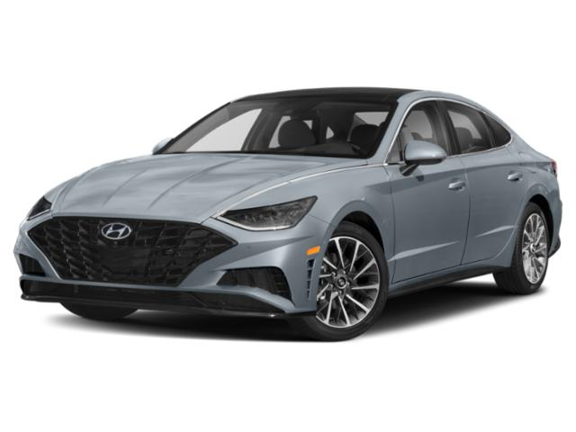 2020 Hyundai Sonata Prices and Values Limited 1.6T side front view
