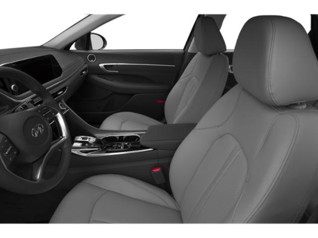 2020 Hyundai Sonata Prices and Values Limited 1.6T front seat interior