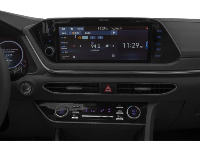 2020 Hyundai Sonata Prices and Values Limited 1.6T stereo system