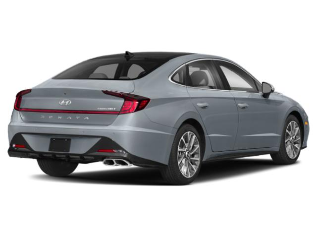 2020 Hyundai Sonata Prices and Values Limited 1.6T side rear view