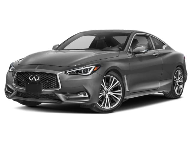 2020 INFINITI Q60 Base Price 3.0t LUXE AWD Pricing side front view