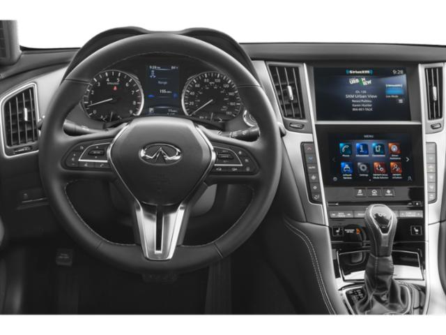 2020 INFINITI Q60 Base Price 3.0t LUXE AWD Pricing driver's dashboard
