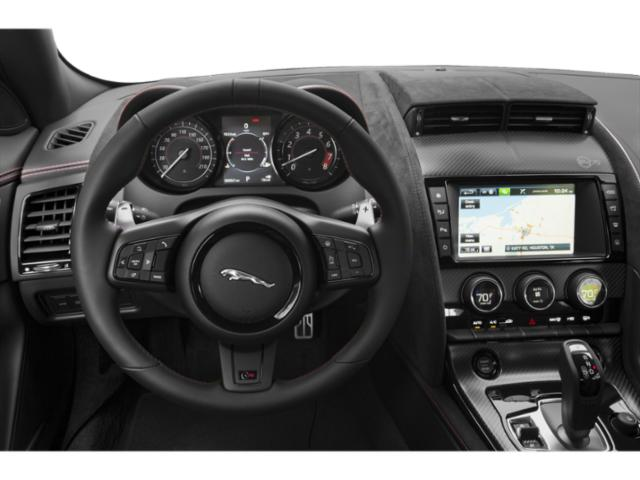 2020 Jaguar F-TYPE Base Price Convertible Auto Checkered Flag Pricing driver's dashboard