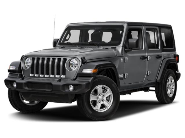 2020 Jeep Wrangler Unlimited Base Price Sport 4x4 Pricing side front view