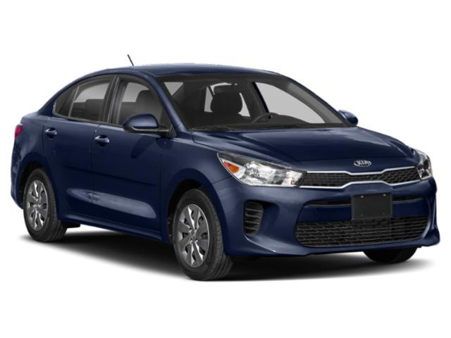 2020 Kia Rio Base Price LX IVT Pricing side front view