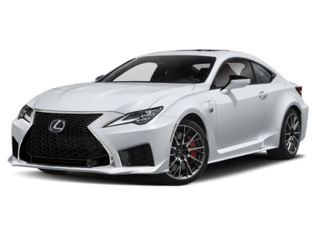 2020 Lexus RC F Base Price RC F RWD Pricing side front view