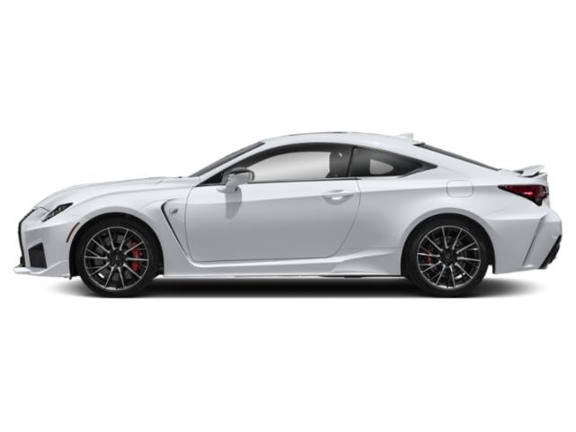 2020 Lexus RC F Base Price RC F RWD Pricing side view