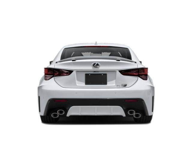 2020 Lexus RC F Base Price RC F RWD Pricing rear view
