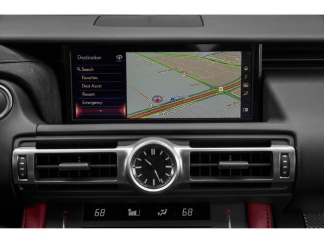 2020 Lexus RC F Base Price RC F RWD Pricing navigation system