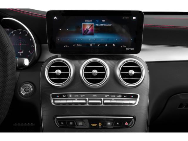 2020 Mercedes-Benz GLC Base Price AMG GLC 43 4MATIC SUV Pricing stereo system